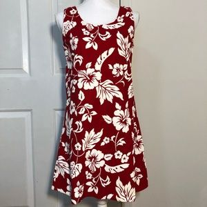 TJ Hawaiian Dress - Hibiscus Flower Made in Hawaii